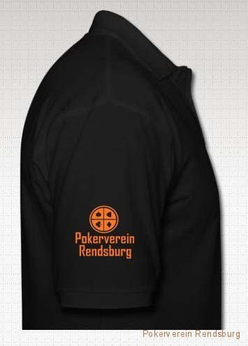 shirt rechts schwarz Pokerverein Rendsburg