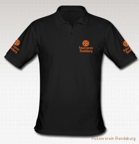 shirt vorne schwarz Pokerverein Rendsburg