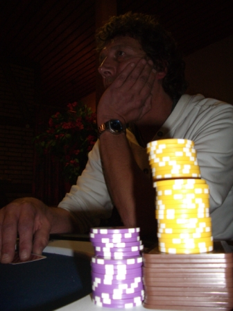 Achim am Final Table