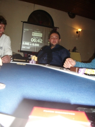 Luca am Final Table