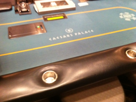 Ceasars Palace Pokertable Vegas