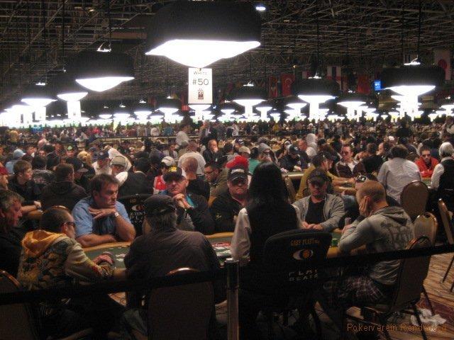 WSOP Pokersaal Sideevent