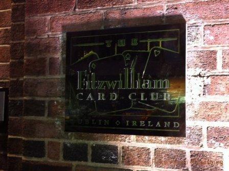 Card Club Fitzwilliam Dublin
