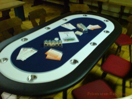 Pokerverein Rendsburg Pokertisch