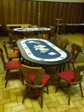 Pokerverein Rendsburg Pokertische