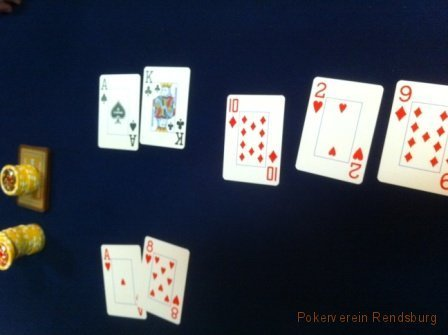 showdown im Pokerverein Rendsburg