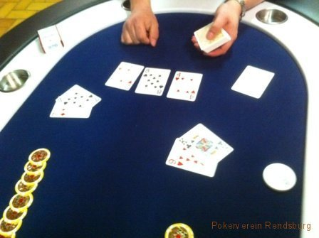 All in im Pokerverein Rendsburg