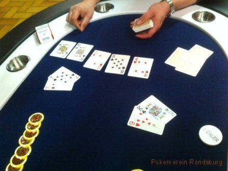 All in im Pokerverein Rendsburg 2