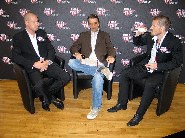 Udo Gartenbach mit Gus und Patrick