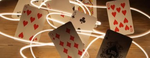 Dancing Poker Cards