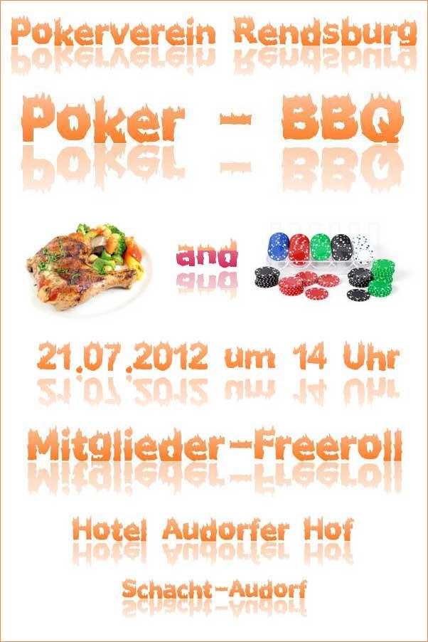 Pokerverein Rendsburg Sommer BBQ 2012