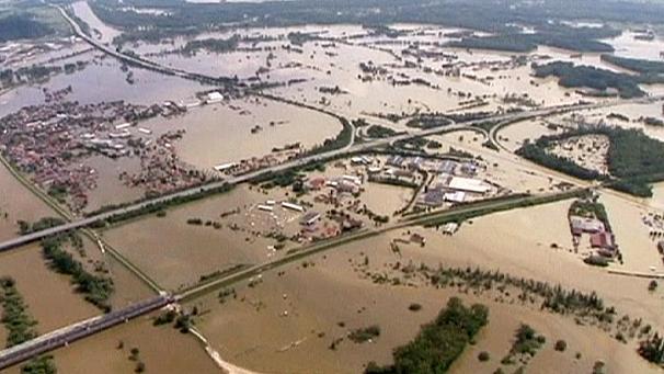 Hochwasser Bayern
