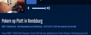 NDR Welle Nord beim Pokerverein Rendsburg