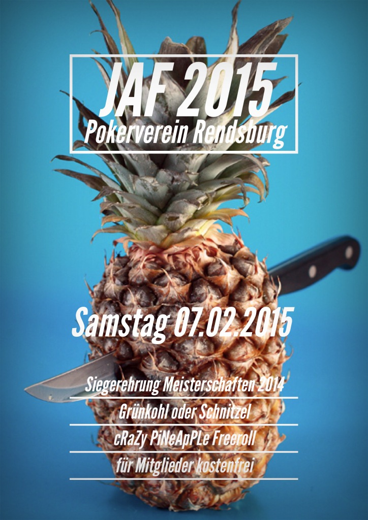 Pokerverein Rendsburg JAF 2015