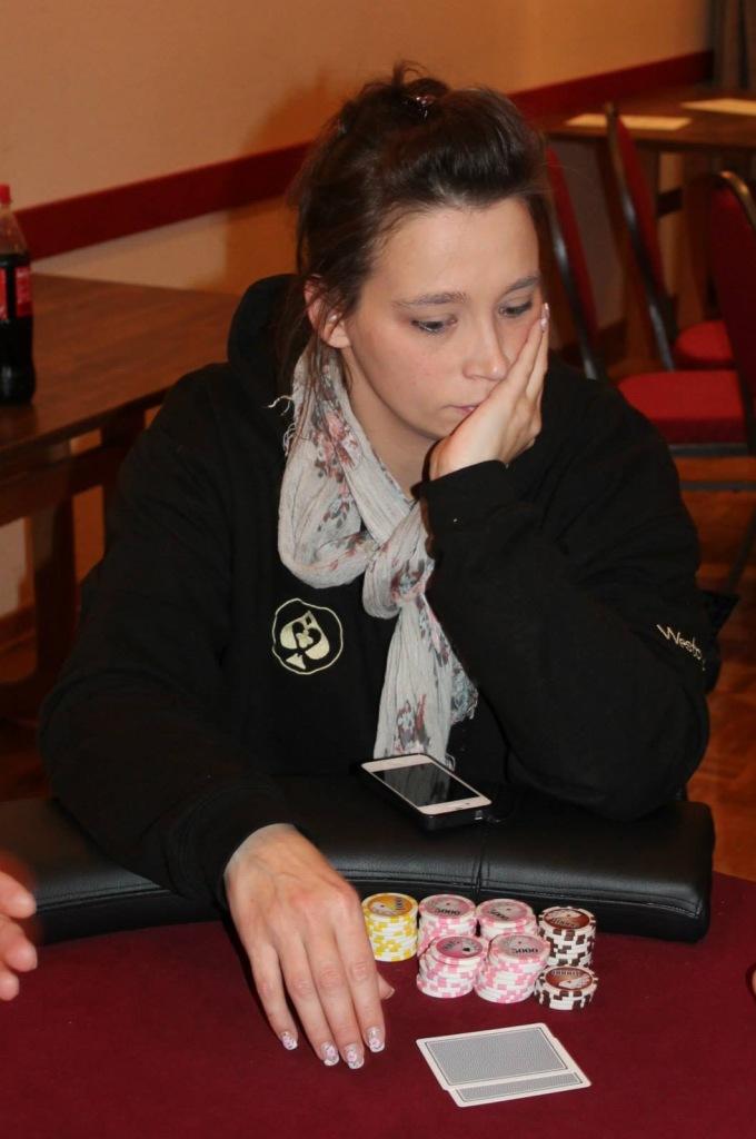 Pokerverein Rendsburg Vereinsmeisterin Dani Ohlsen